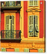 Afternoon Windows Acrylic Print