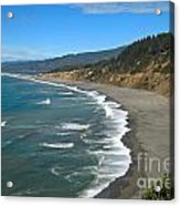 Agate Beach At Patricks Point Acrylic Print by Adam Jewell