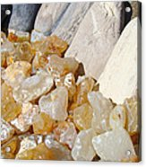 Agate Rocks Beach Art Prints Agates Acrylic Print