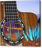 Agave Guitar Acrylic Print