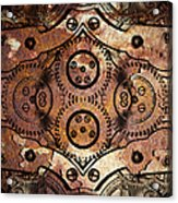 Age Of The Machine 20130605rust Vertical Acrylic Print