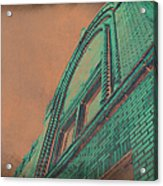 Aged Copper Theater Acrylic Print