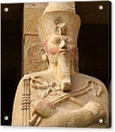 Ageless Egyptian Queen Acrylic Print by Brenda Kean
