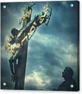 Agfacolor Jesus Acrylic Print