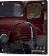Aging Dodge   #3514 Acrylic Print