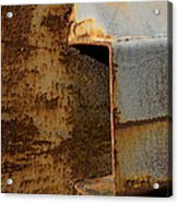 Aging With Rust Acrylic Print