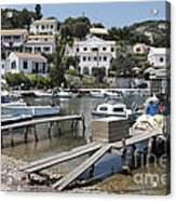 Agios Stefanos Corfu Acrylic Print