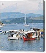 Agios Stefanos Acrylic Print