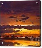 Aglow Acrylic Print