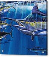 Agressor Off00140 Acrylic Print by Carey Chen