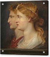 Agrippina And Germanicus Acrylic Print