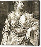 Agrippina Wife Of Tiberius Acrylic Print