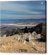 Aguereberry Point View Of Death Valley #4 Acrylic Print