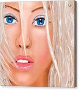Aguilera Beautiful Acrylic Print