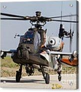 Ah-64d Apache Longbow Of The Royal Acrylic Print