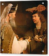 Ahimelech Giving The Sword Of Goliath To David Acrylic Print