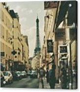 Ah,paris.. 🇫🇷 Acrylic Print