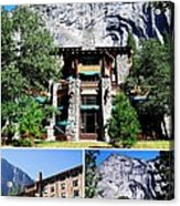 Ahwahnee Hotel In Yosemite National Park Acrylic Print