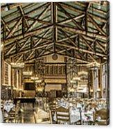 Ahwahnee Dining Room Acrylic Print