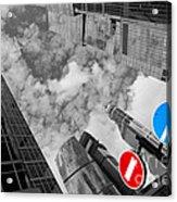Aim High Acrylic Print by Maurizio Bacciarini