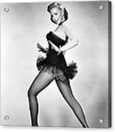 Aint Misbehavin, Piper Laurie, 1955 Acrylic Print