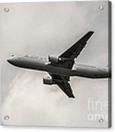 Air Canada B 767 Monochrome Acrylic Print