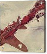 Air Combat Acrylic Print