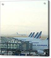 Air France Paris Cdg Acrylic Print