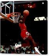 Air Jordan Reverse Slam Acrylic Print