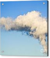 Air Pollution Acrylic Print