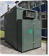 Air Quality Monitoring Station Acrylic Print