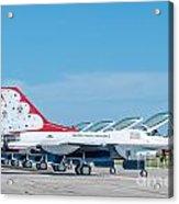 Air Show Thunderbirds  Acrylic Print