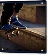 Airborne Skateboarder Acrylic Print