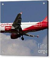 Airbus A320 Of Air Berlin Acrylic Print