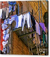 Airing Out The Drawers By Diana Sainz Acrylic Print