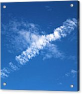 Airplane Cloud Acrylic Print