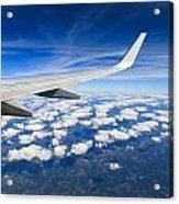 Airplane Wing Acrylic Print