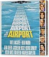 Airport Acrylic Print