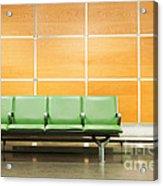 Airport Seats Acrylic Print