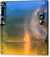Airstream Sunset Acrylic Print