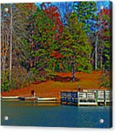 Ajsp Boat Ramp Acrylic Print