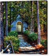 Ajsp Chapel Acrylic Print