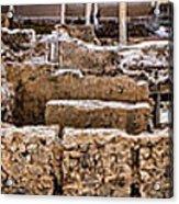 Akrotiri Archaeological Site In Santorini Acrylic Print