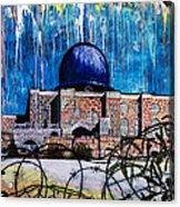 Al-asqa Mosque Palestine Acrylic Print by Salwa  Najm