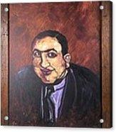 Al Capone Portrait Acrylic Print by Jennifer Noren