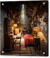 Al Capone's Cell - Historical Ruins At Eastern State Penitentiary - Gary Heller Acrylic Print