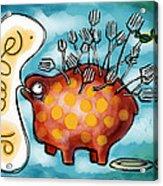 Al Dente Acrylic Print