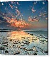 Al Hamra Sunset Acrylic Print