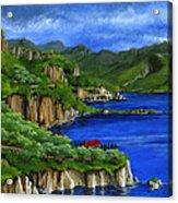 Al Mafi Coast Italy Acrylic Print