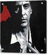 Al Pacino  Acrylic Print by Luis Ludzska